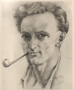 Jarmain sketch by Eve Houghton 1944